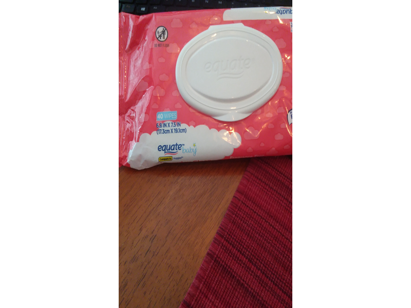 Equate Hypoallergenic Baby Wipes 40 Ct Ingredients And