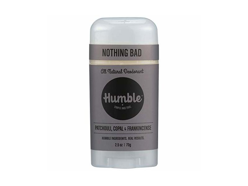 Humble Natural Deodorant Patchouli Copal & Frankincense, 2.5 Ounce
