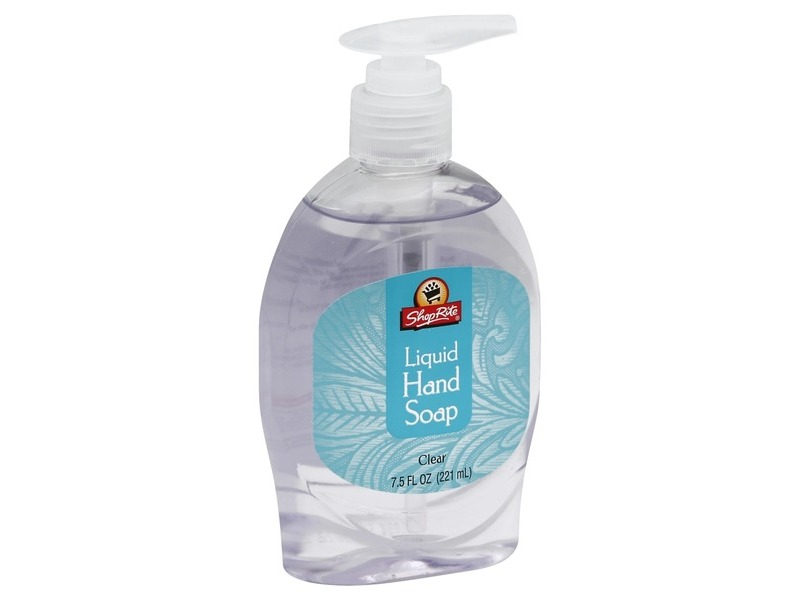 ShopRite Liquid Hand Soap, Clear, 7.5 fl oz