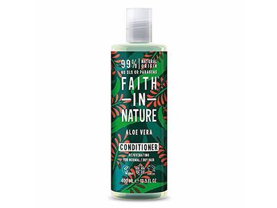 Faith In Nature Aloe Vera Conditioner, Normal & Dry Hair, 13.5 fl oz/400 ml