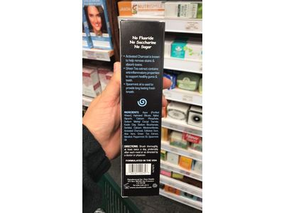 Zion Health ClayBrite Mineral Toothpaste 4 oz Activated Charcoal - Image 4