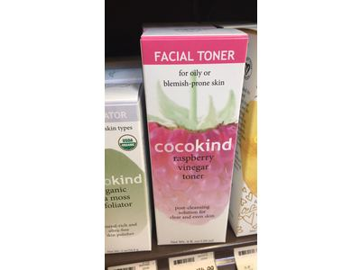 Cocokind Facial Toner, Raspberry Vinegar, 4 fl oz - Image 3