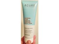 Acure Incredibly Clear Charcoal Lemonade Facial Scrub, 4 fl oz / 118 ml - Image 3