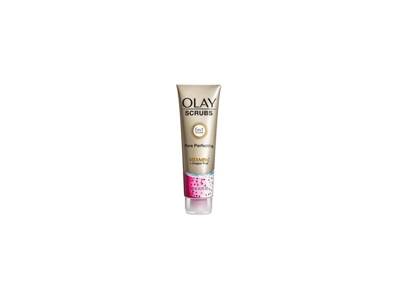 Olay Scrubs Pore Perfecting Facial Cleanser, Vitamin C + Dragon Fruit