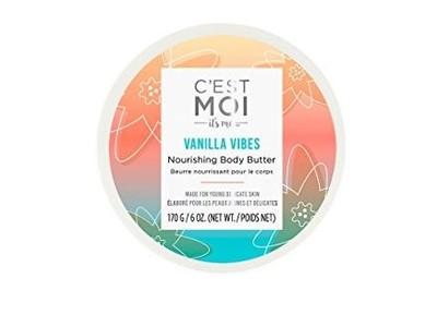 C'est Moi Vanilla Vibes Nourishing Body Butter, 6 oz