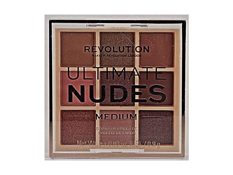 Revolution Beauty Ultimate Nudes Eyeshadow Palette, Medium