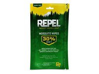 Repel Insect Repellent Mosquito Wipes 30% Deet, 15 wipes - Image 2