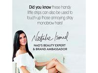 Nad's Facial Wax Strips + 4 Calming Oil Wipes - Image 12
