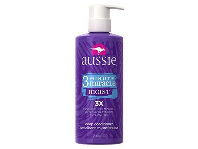 Aussie 3 Minute Miracle Moist Deep Conditioning Treatment, 16 Fluid Ounce - Image 1