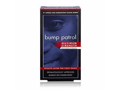Bump Patrol Maximum Strength Moisturizing Aftershave, 2 oz