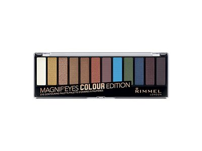 Rimmel Magnif'eyes Eyeshadow Palette, Colour Edition, 0.22 Ounce