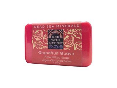 One With Nature Dead Sea Bar Soap, Grapefruit Guava 7 Oz