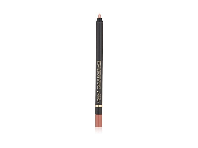 L'Oreal Paris Makeup Colour Riche Comfortable Creamy Matte Pencil Lip Liner, 110 Matte's It, 0.04 oz.