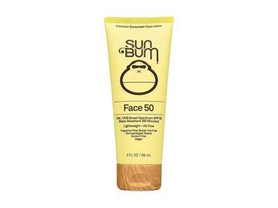 Sun Bum SPF 50 Sunscreen Face Lotion, 3 fl oz