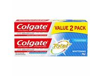 Colgate Total Whitening Toothpaste, 4.8 oz, Pack Of 2 - Image 2