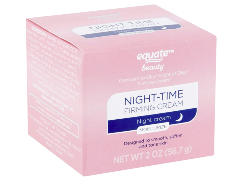 Equate Beauty Night Time Firming Cream, 2 oz / 56.7 g, Pack Of 2