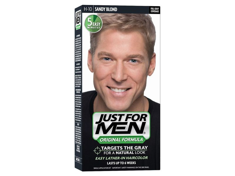 Just For Men Shampoo-In Haircolor, Sandy Blond H-10, 1 ea
