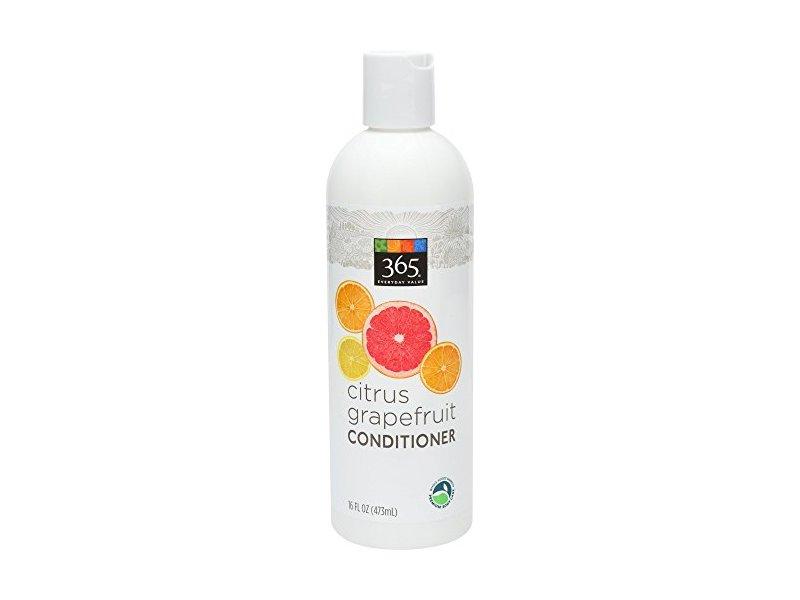 365 Everyday Value Citrus Grapefruit Conditioner, 16 Fl Oz