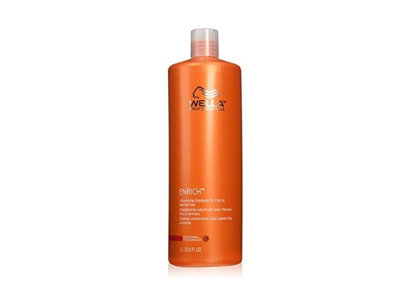 Wella Enrich Volumizing Shampoo, 33.8 fl oz