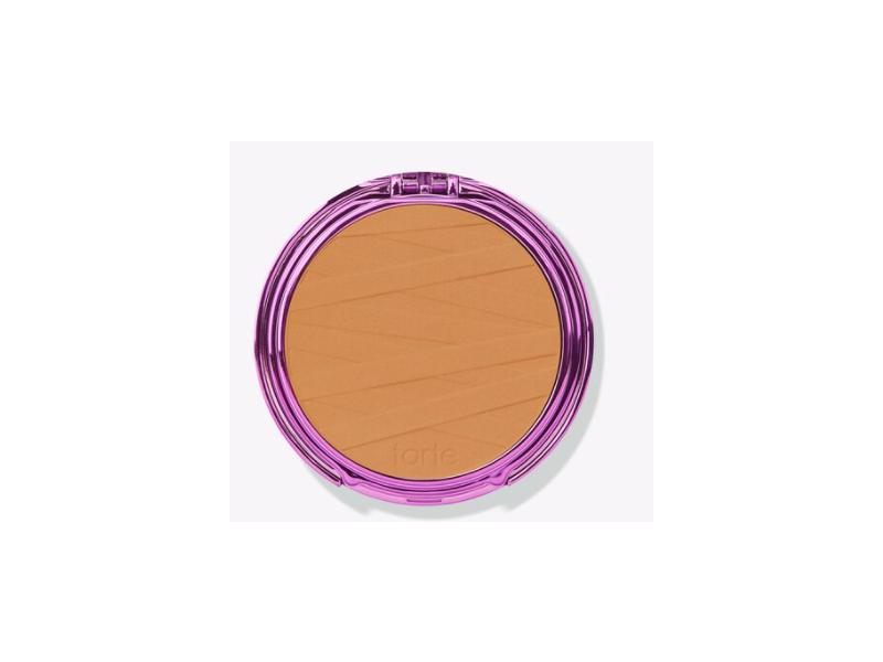 Tarte Shape Tape Powder Foundation, Tan Deep Neutral, 0.39 oz/11 g