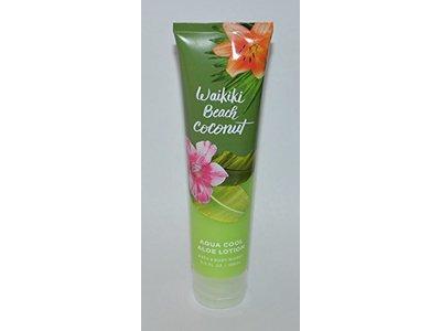 Bath & Body Works Waikiki Beach Coconut Aqua Cool Aloe Lotion, 5.6 fl oz