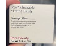 Rare Beauty Stay Vulnerable Melting Cream Blush, Nearly Rose True Pink, 0.17 oz / 5 g - Image 3