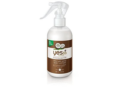 Yes To Coconut Hydrate & Restore Ultra Light Spray Body Lotion, 10 Ounce