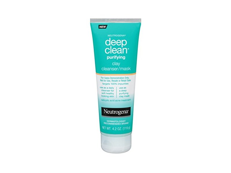 Neutrogena Deep Clean Purifying Clay Cleanser/Mask, 4.2 oz