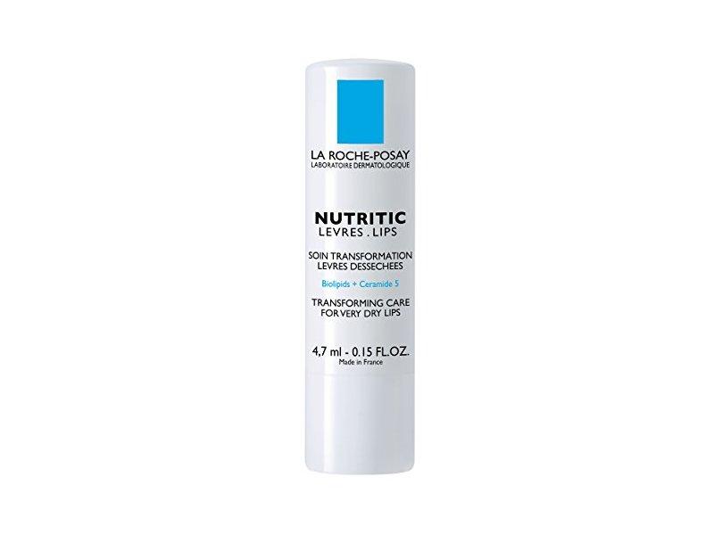 La Roche-Posay Nutritic Lips Transforming care Lip Balm Stick, 0.15 fl oz