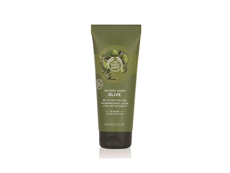 The Body Shop Olive Nourishing Body Lotion, 6.75 Fl Oz