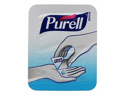 Purell Advanced Hand Sanitizer Singles, 25 Pack