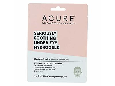 Acure Seriously Soothing Under Eye Hydrogels - Case of 12 - 0.236 fl oz.