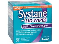 Systane Lid Wipes Eyelid Cleansing Wipes, 32 - Image 2