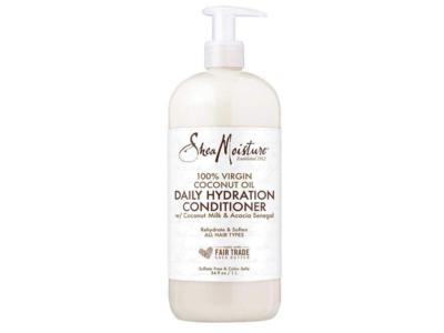 Shea Moisture 100% Virgin Coconut Oil Daily Hydration Conditioner, 34 fl oz