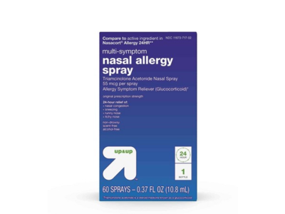 up&up Multi-Symptom Nasal Spray, 0.37 fl oz (10.8 mL)