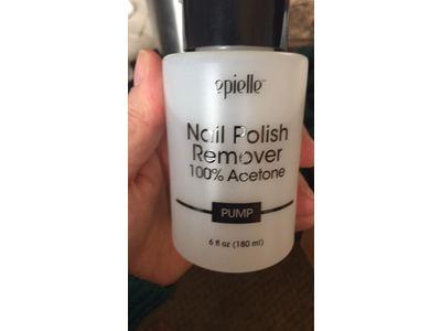 Epielle Nail Polish Remover 100% Acetone, Pump, 6 fl oz - Image 3
