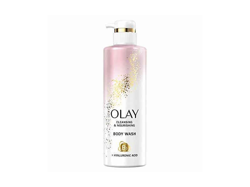Olay Cleansing & Nourishing Body Wash, 17.9 fl oz/530 mL