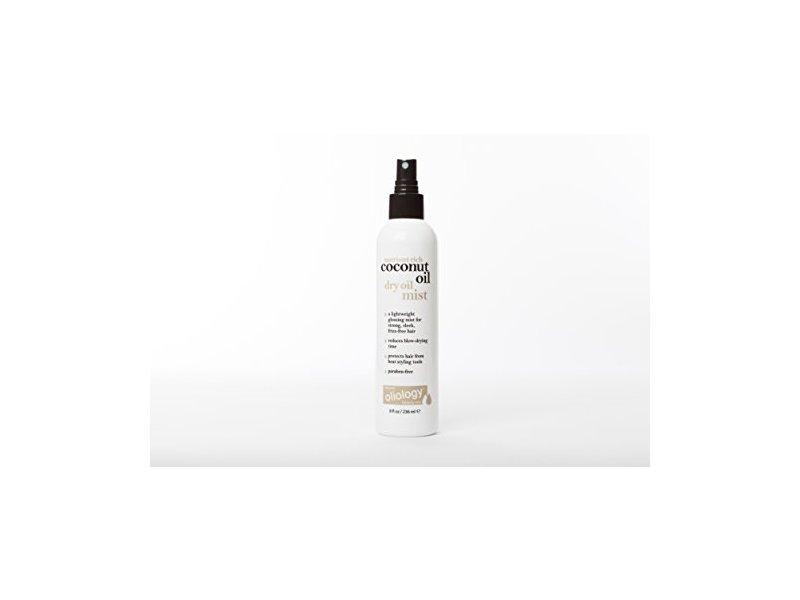 Oliology Coconut Oil Dry Oil Mist Spray, 8 Oz.