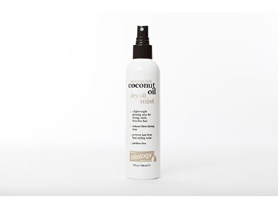 Oliology Coconut Oil Dry Oil Mist Spray, 8 Oz.