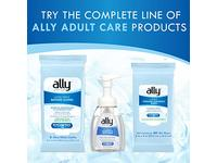 Ally Rinse-Free Ultra-Thick Adult Bathing Cloths, Microwaveable and Hypoallergenic, 8 Count - Image 9