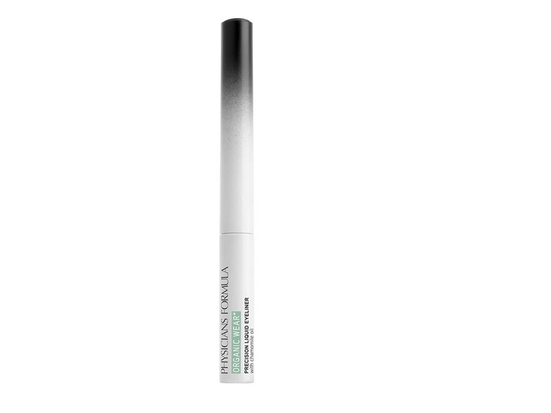 Physicians Formula Organic Wear Precision Liquid Eyeliner, Black, 0.14 fl oz