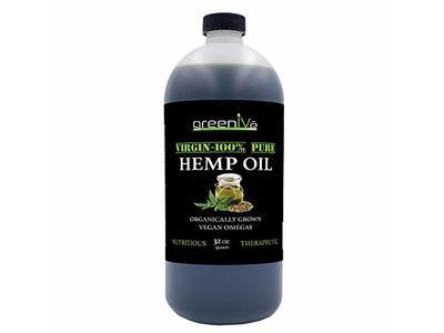 GreenIVe Hemp Oil, 32 fl oz