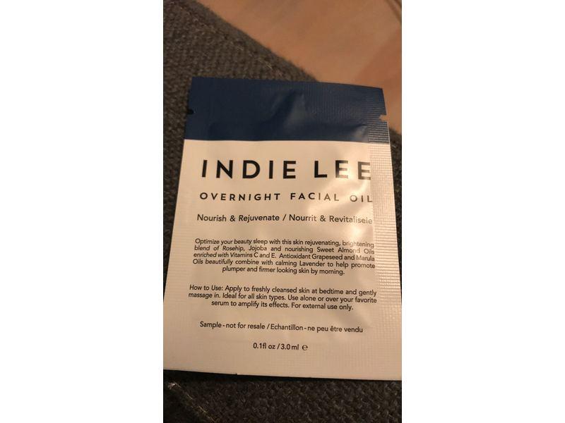 Indie Lee Overnight Facial Oil, 0.1 fl oz/3 ml