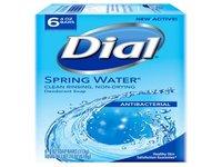 Dial Antibacterial Deodorant Bar Soap Spring Water - Image 2