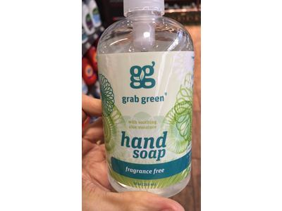 Grab Green Liquid Hand Soap, Fragrance Free, 12 fl oz - Image 3