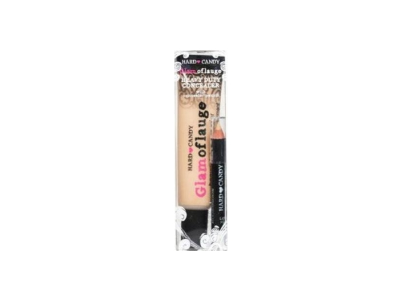 Hard Candy Glamoflauge Heavy Duty Concealer with Pencil, Ultra Light 487