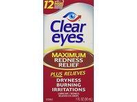Clear Eyes Maximum Redness Relief Eye Drops, 1 FL OZ - Image 5