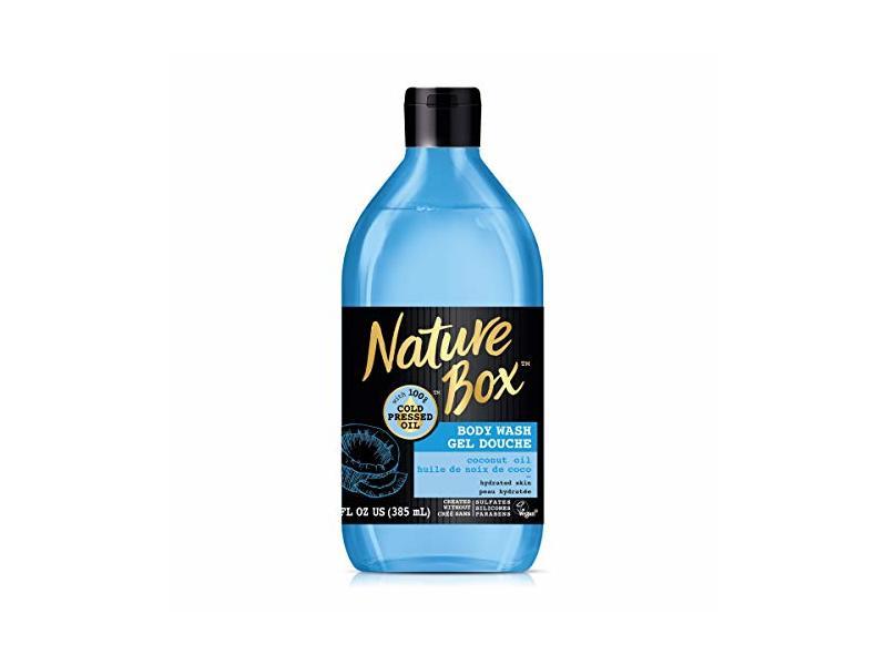 Nature Box Body Wash, 100% Cold Pressed Coconut Oil, 13 Ounce