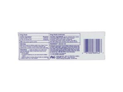 Crest 3D White Brilliance Toothpaste, Vibrant Peppermint 4.1 oz - Image 3