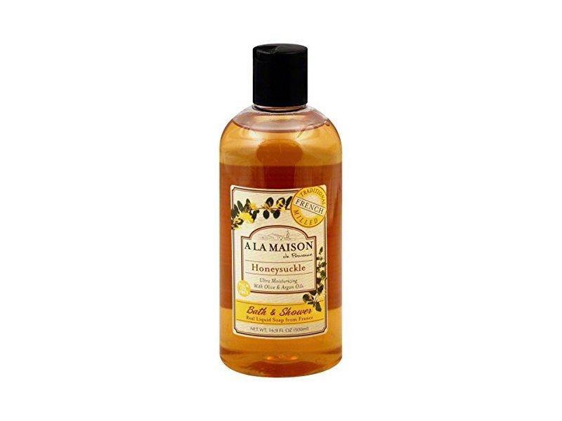 A La Maison Honeysuckle Shower Gel, 16.9 Ounce